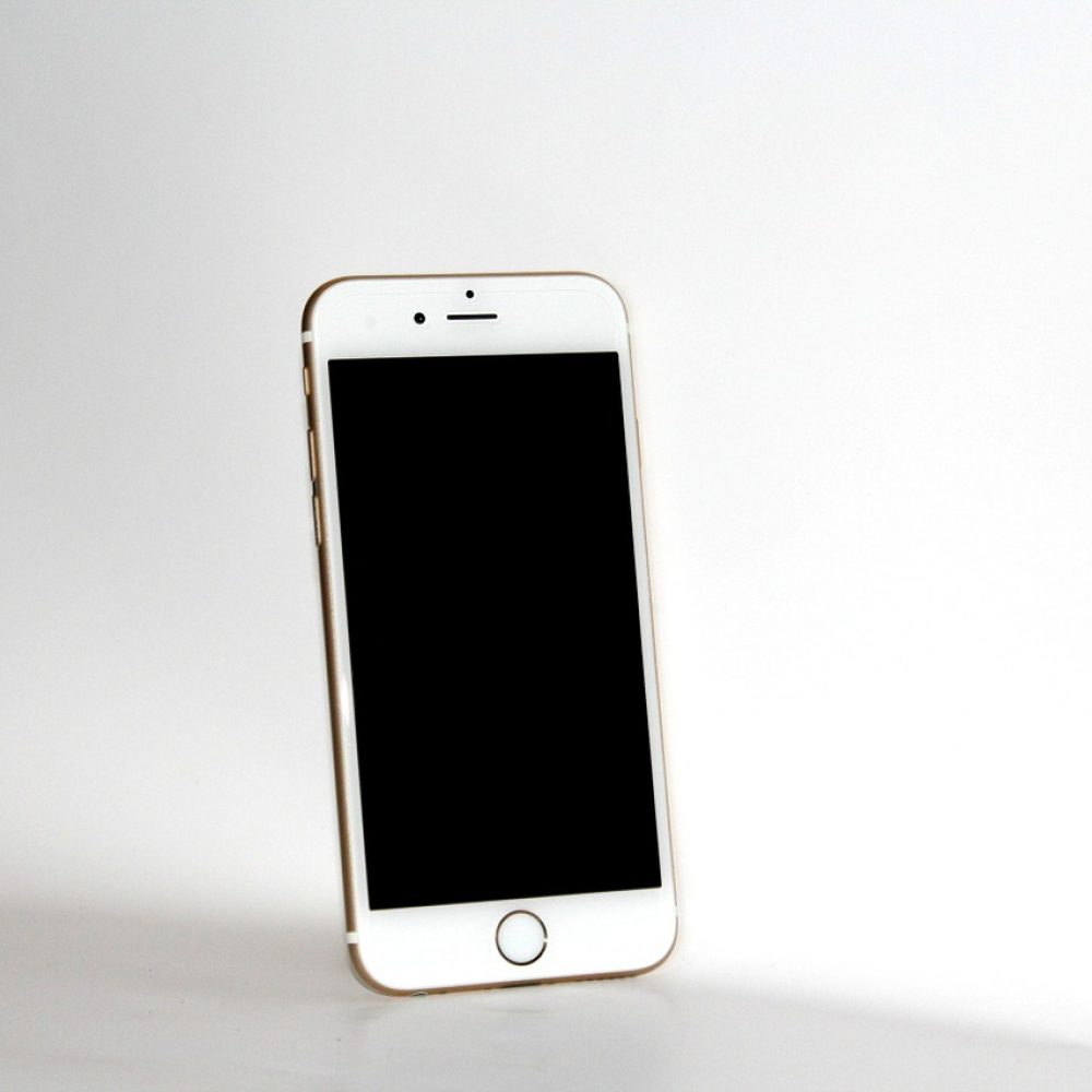 iphone 6s, white, mobile phone